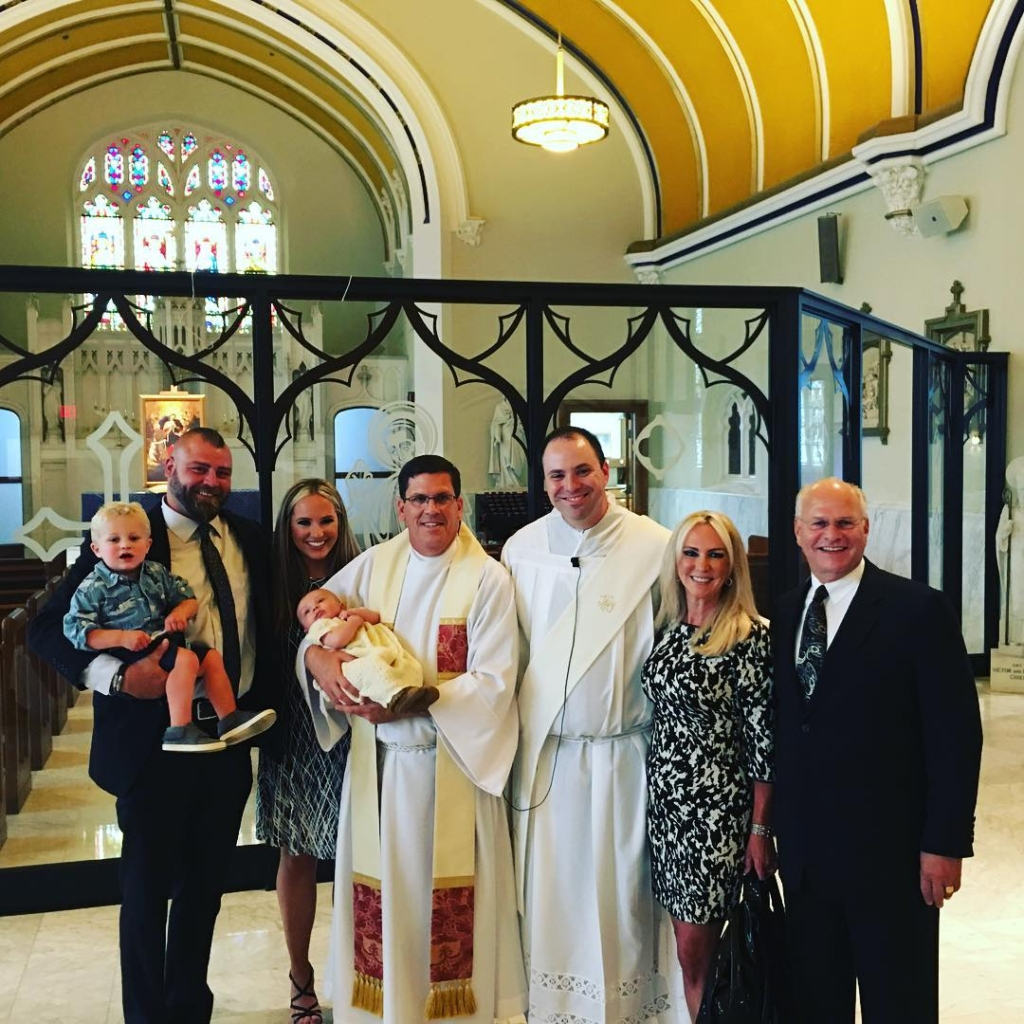 "Yesterday the Gendel Girls celebrated Catherine's son Porter getting baptized. It was a beautiful day followed by a bbq at Catherine and her husband Phil's home. Hope everyone else had a great weekend and here's to a new ""hot"" week!"
